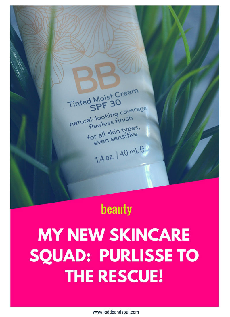 MY NEW SKINCARE SQUAD:  PURLISSE TO THE RESCUE!