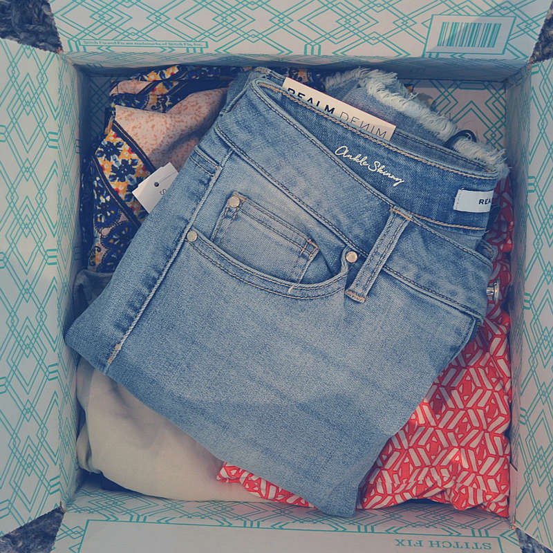 I've got Stitch Fix on the blog and am unboxing my first in over a year.