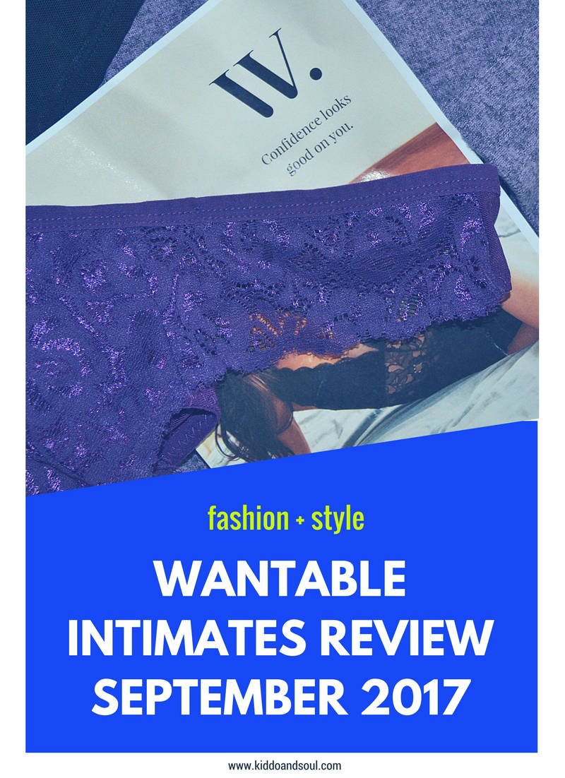 I've got Wantable on the blog for another month! See what I got in the September Intimates Collection!