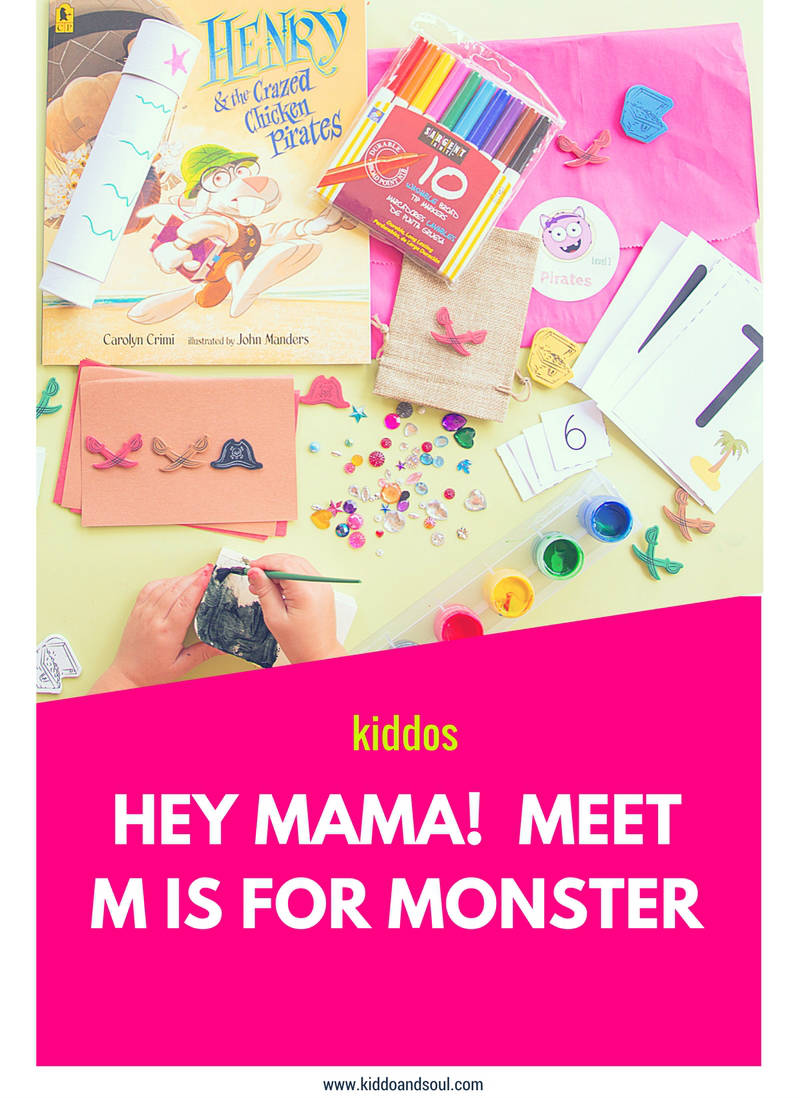 M is for Monster is PERFECT for working moms or busy moms in general who need preconceived educational activities for their preschooler!