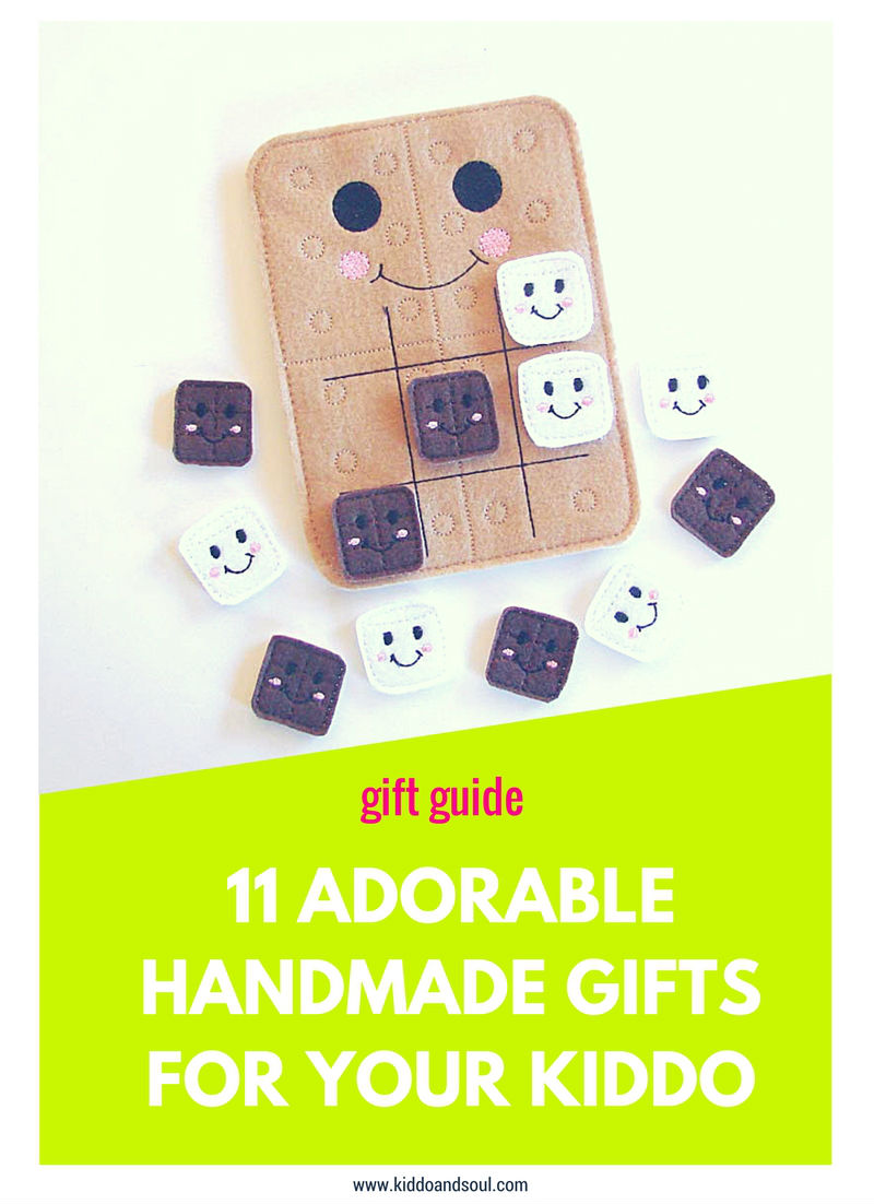 These handmade gifts for your kiddo will make your heart melt.