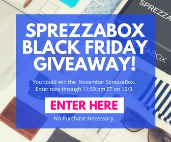 I've got SprezzaBox on the blog for round 2. Wanna see what I got in the November Box?