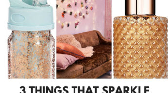 Current Obsession: Things that sparkle