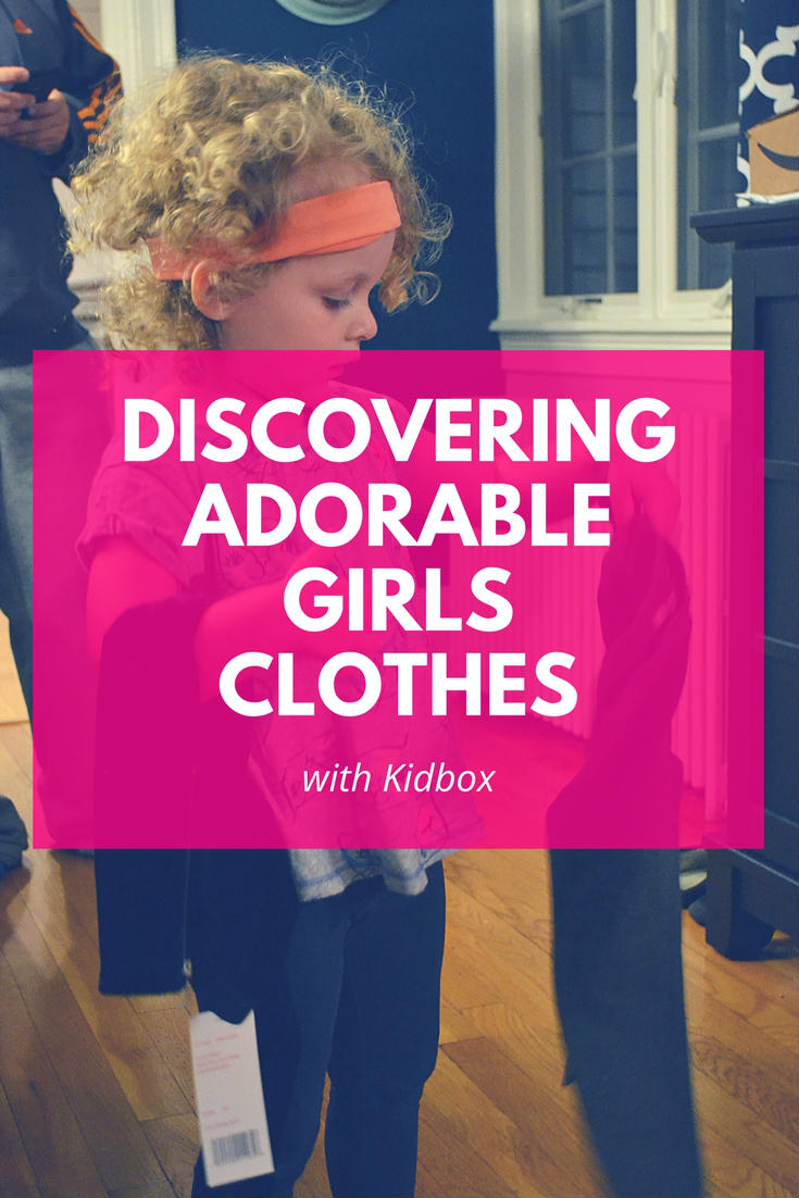 We are in possession of the most adorable girls clothes thanks to Kidbox!