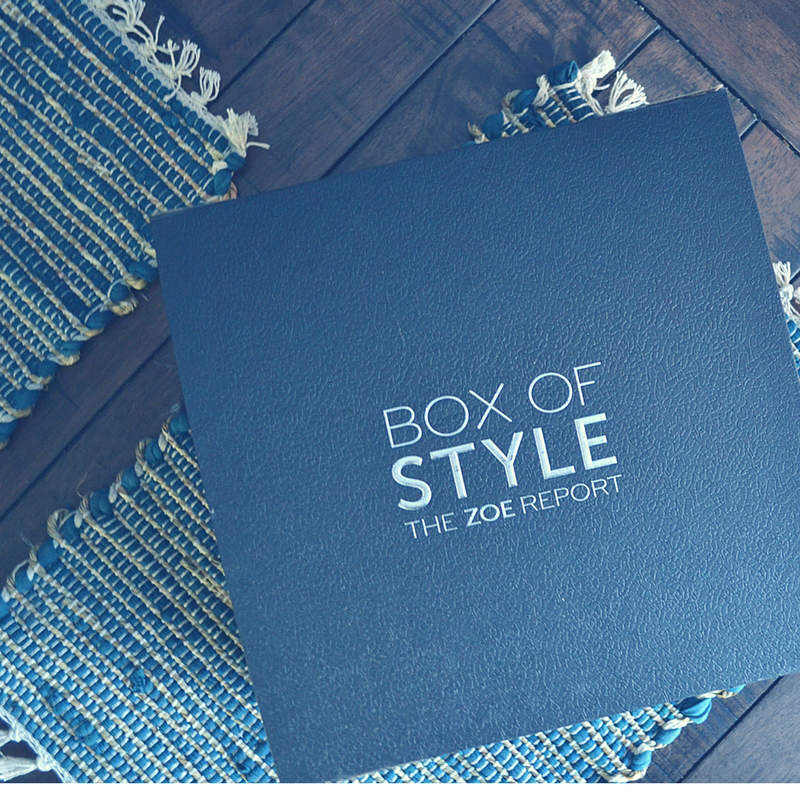 I'm unboxing my 2018 resultions with Box of Style!