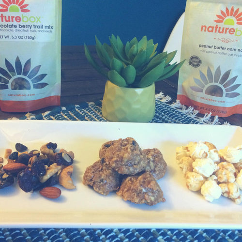 Its giveaway time and we're giving away some seriously guilt free snacks from Naturebox.