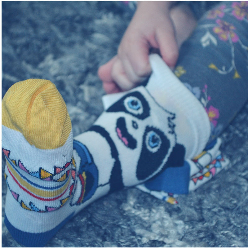 These are the most adorable kids socks and they're from Sock Panda!