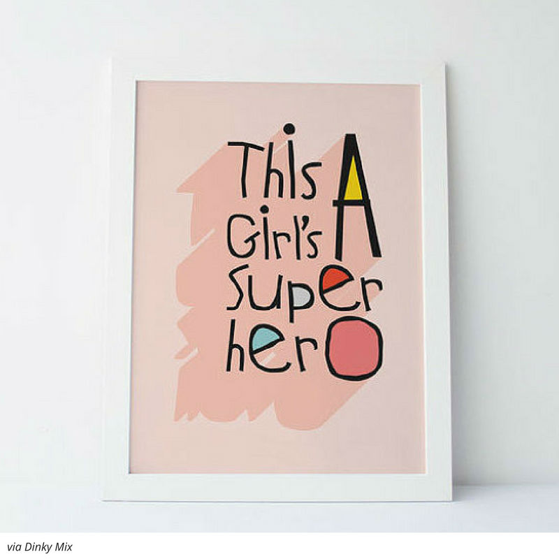 KIDS ART PRINTS THAT DEFY GENDER ROLES AND ROCK 5