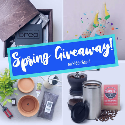 THE SPRING GIVEAWAY ON KIDDOANDSOUL STARTS TODAY 1a