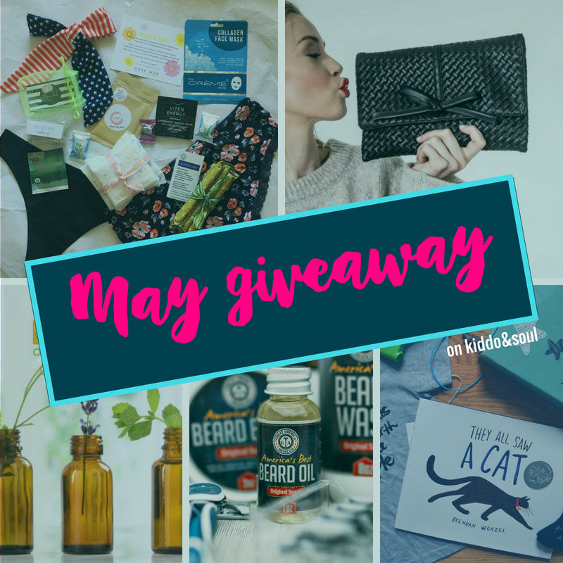 MAYS ALMOST OVER - ITS GIVEAWAY TIME 1