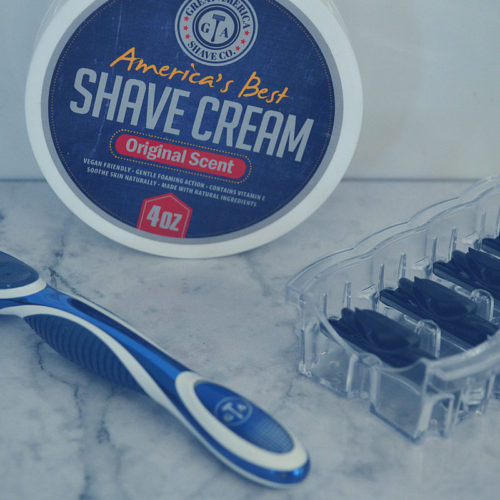 If you're looking for a shaving subscription for your favorite guy, check out Great America Shave. Heavy Duty razors and blades; vegan products.