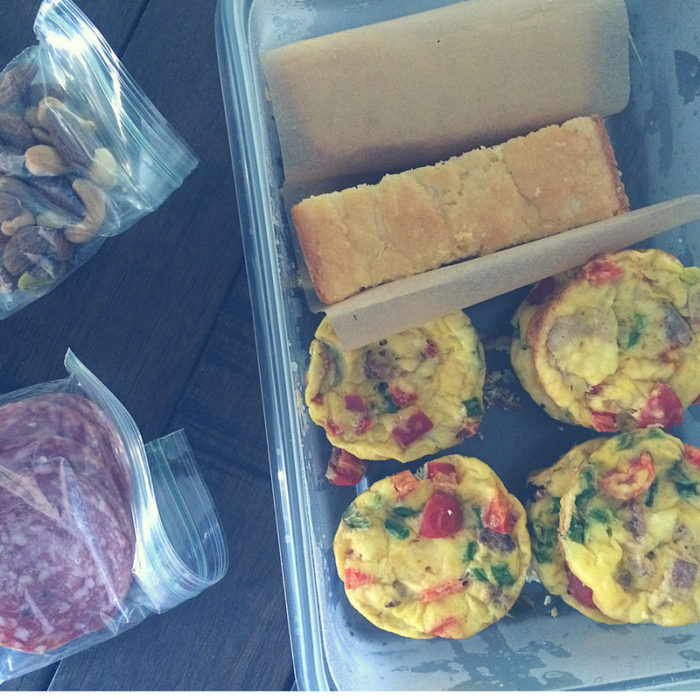 These keto friendly bacon, egg and veggie breakfast muffins are easy to make and our great for meal prep!