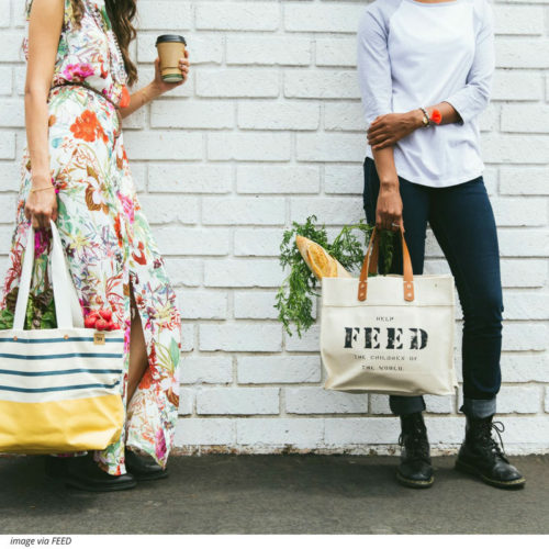 Can a bag change your life? Yes. FEED bags provide school meals to children in need. More here!