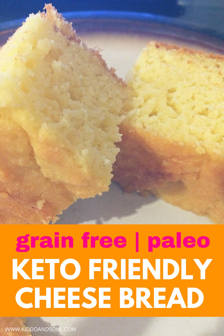 We make this grain free paleo keto friendly cheese bread weekly. It's delicious and super easy!