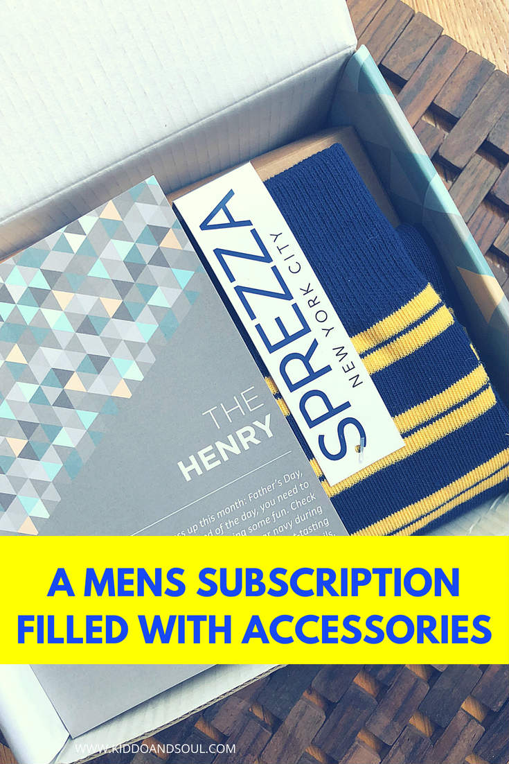 SprezzaBox is a great mens subscription box for any guy who loves to rock a tie, cools socks and all of the accessories.  This box is filled with products to complete his outfit (whether it be a dressy mens outfit or a bit more casual.   We've tried a couple of these boxes and they were a hit.