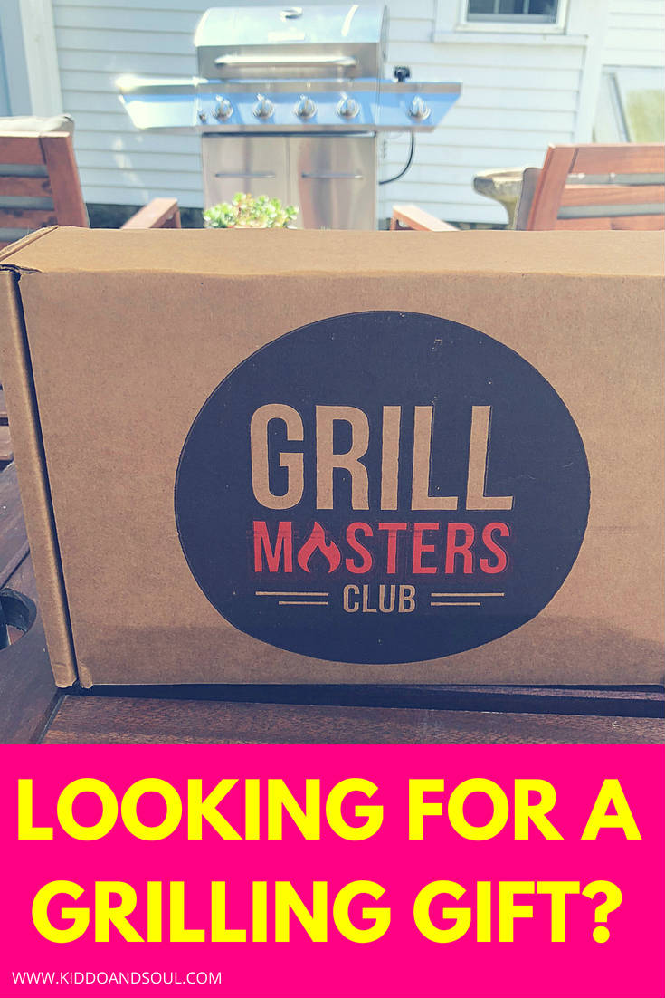 If you know someone who loves to grill, Grill Masters Club is an amazing grilling gift.  Its a monthly subscription box that sends sauces, rubs, recipes and more - whether you're grilling chicken, shrimp, steak or veggies, each month you get a bunch of stuff to try.  And, they have a