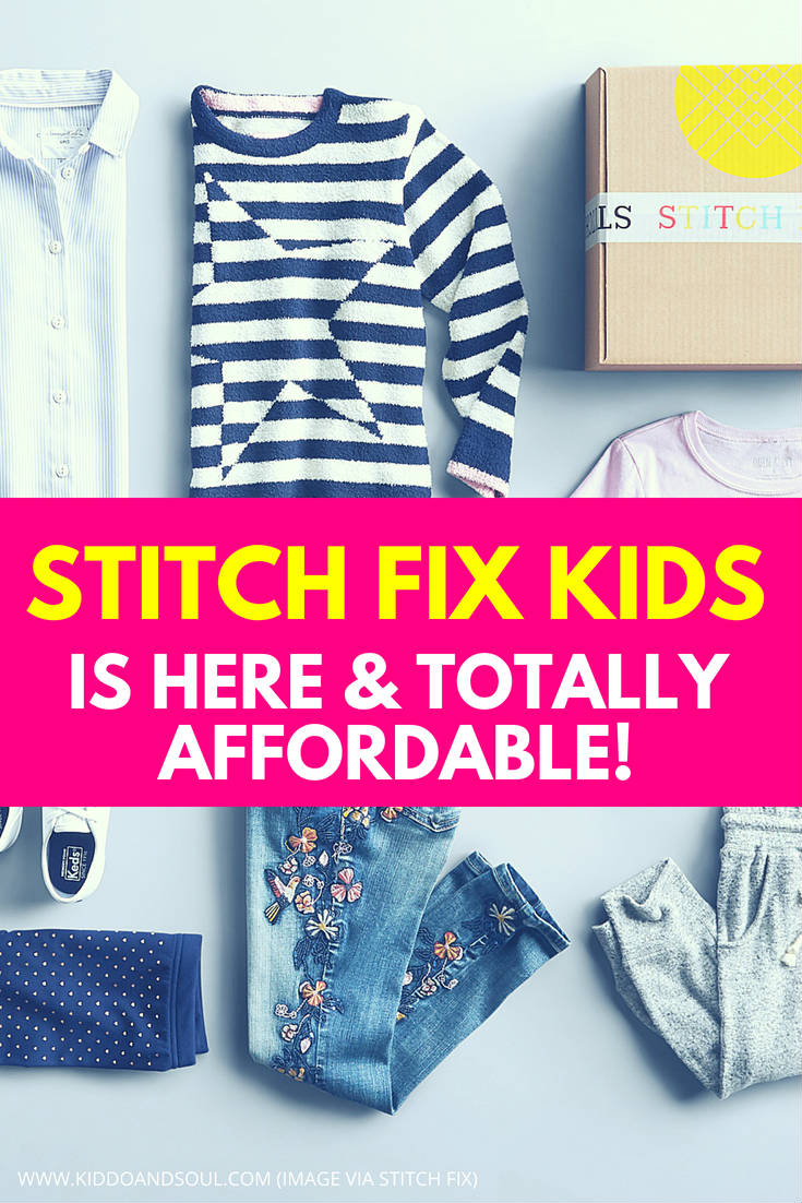I have been obsessing over Stitch Fix for years.  I couldn't be more excited that they've launched their Stitch Fix Kids line this week!  Shopping for kids clothes can be unbearable sometimes, but kids subscriptions that deliver affordable kids fashion to your door are basically magic in a box.  Check out what Stitch Fix Kids has to offer here and check back next week to see what we unbox!