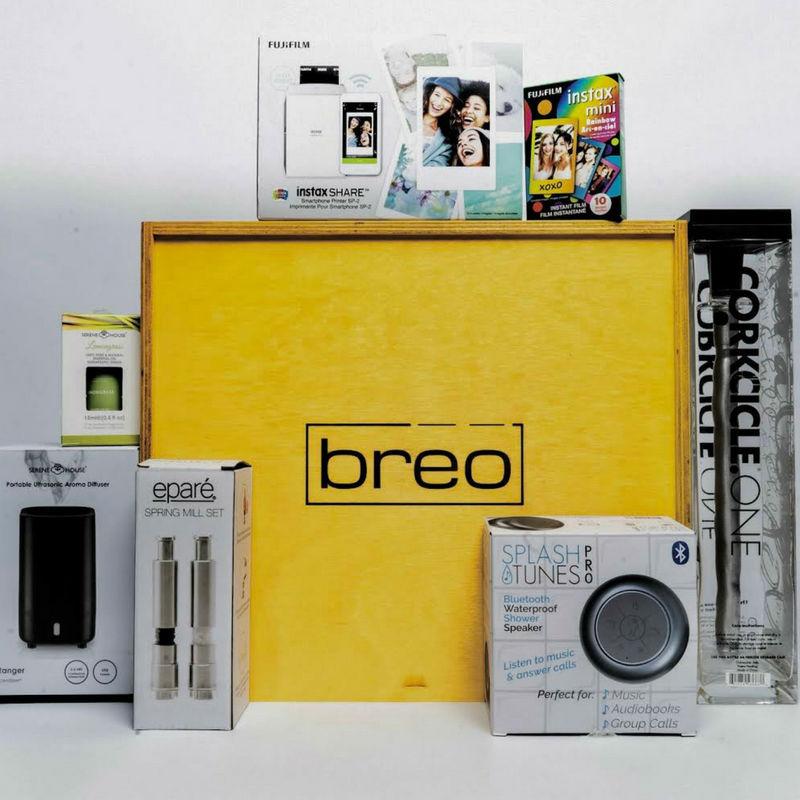 breo box summer giveaway