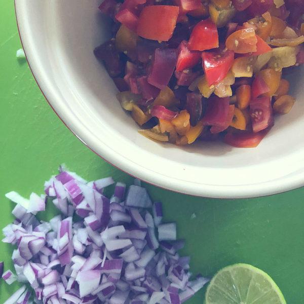 Fresh Heirloom Tomato Salsa Keto Approved 1a