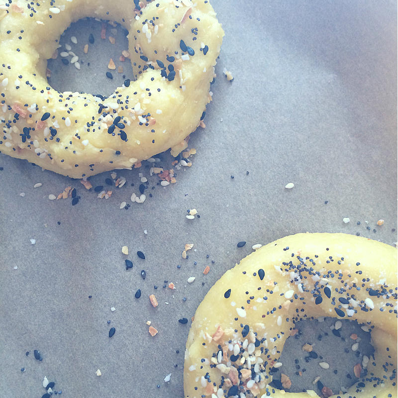 I took a stab at making homemade keto bagels and they turned out just magical