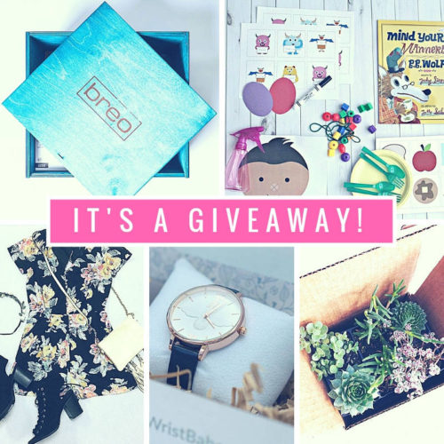 September Giveaway Enter for your chance to win 1 of 5 prizes