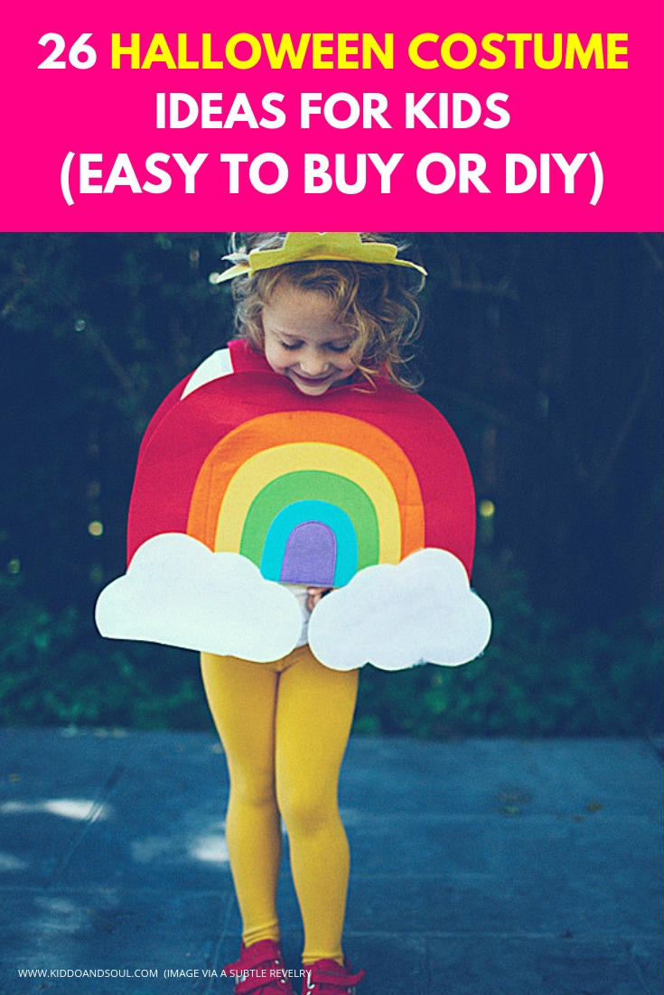 I'm always looking for great Halloween costume ideas for my kiddo and rounded up a great list of adorable costumes to buy or create yourself.  Trick or treat!
