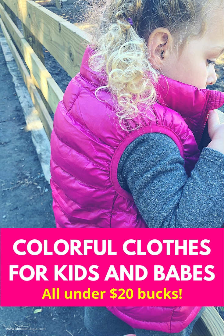 My daughter is obsessed with pink right now.We got this raspberry colored vest from Primary recently and LOVE it. They make THE MOST colorful clothes for kids and the price is super affordable.  #affiliate #clothesforkids #kidsclothes #kidsstyle #kidsfashion #girlsfashion #girlsclothes #girls #boys #boysfashion #boysclothes #affordable #cute #cool #cheap #primary #outfit #kidsoutfit #fallstyle #fall