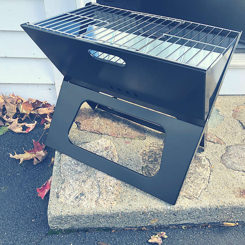 This lifestyle subscription sent a grill in their October box a grill guys