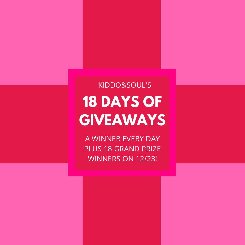 18 Days of Giveaways Starts Now -Week 1