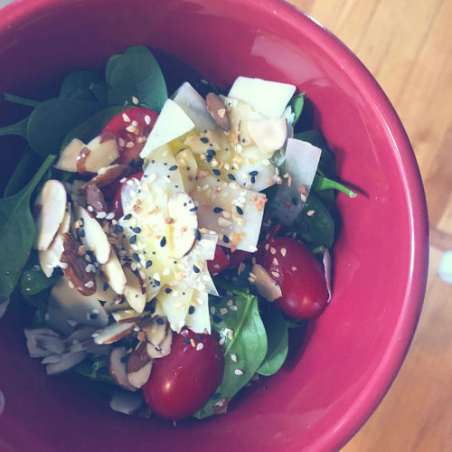 6 Easy Salads for busy weeks and in between