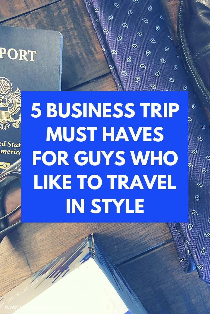 A business trip (or two…or three) is part of the gig when you're a career guy.  Here are 5 must haves and 1 sidekick perfect for guys who travel on business.  #businesstrip #worktrip #packing #packinglist #mensaccessories #accessories #mensstyle #mensfashion #sprezzabox #menssubscription #menssubscriptionbox #subscriptionbox #trip #travel #traveltips #worktravel #work #business #businessmeeting #howtodress #howtopack