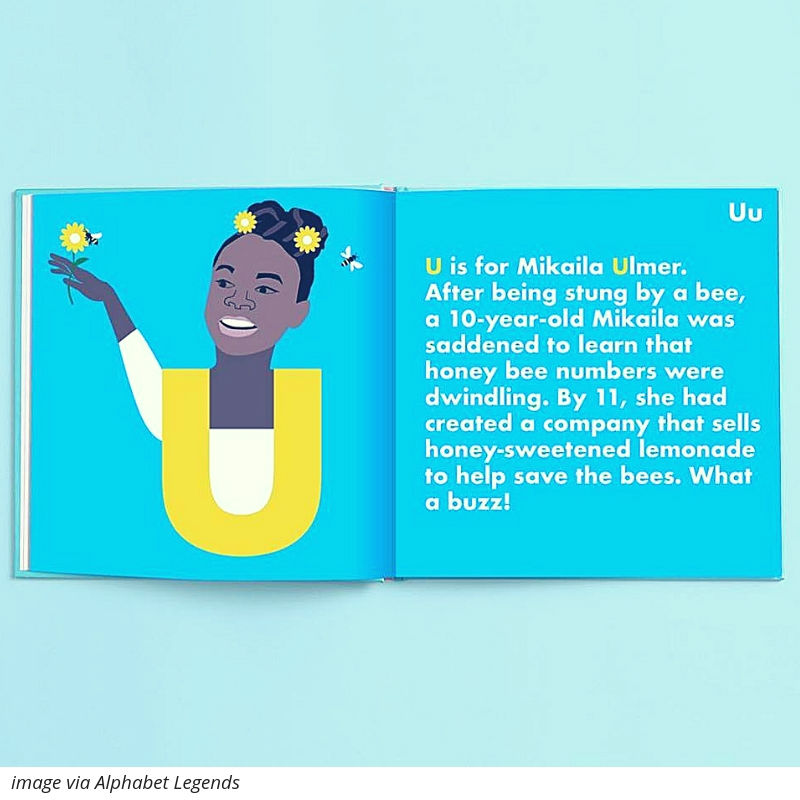 Alphabet Legends books inspire topical convos with your kids and theyre cute too