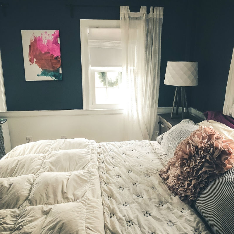House Tour A simple master bedroom