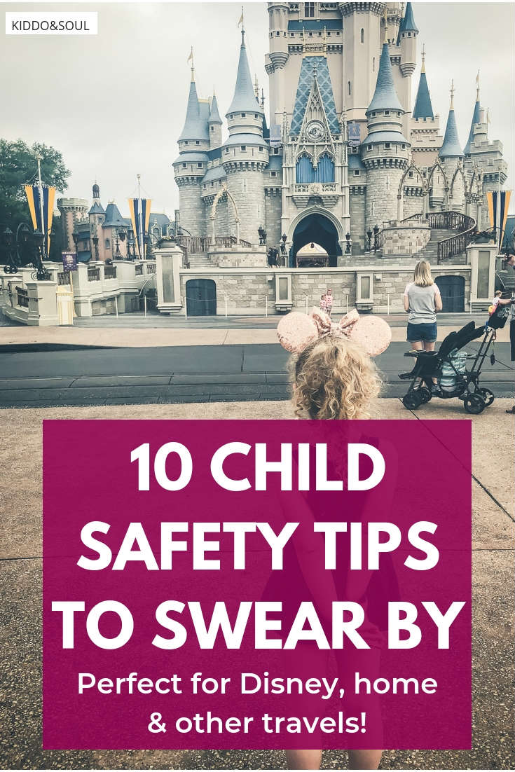10 child safety tips to swear by in Disney at home and beyond