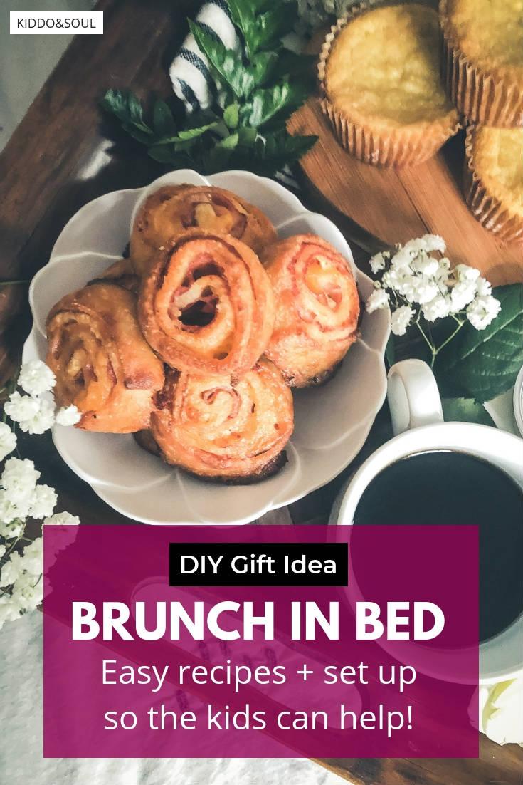 Kid friendly brunch in bed ideas