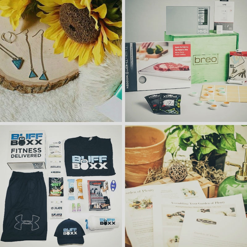 May Giveaway Time! 4 Subscription boxes will be awarded!
