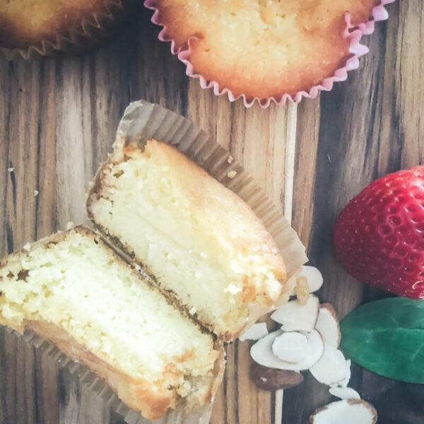 Super Easy Keto Pound Cake Muffins Recipe