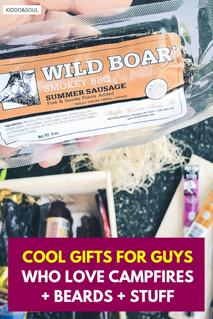 Cool gifts for guys who love campfires + beards + stuff