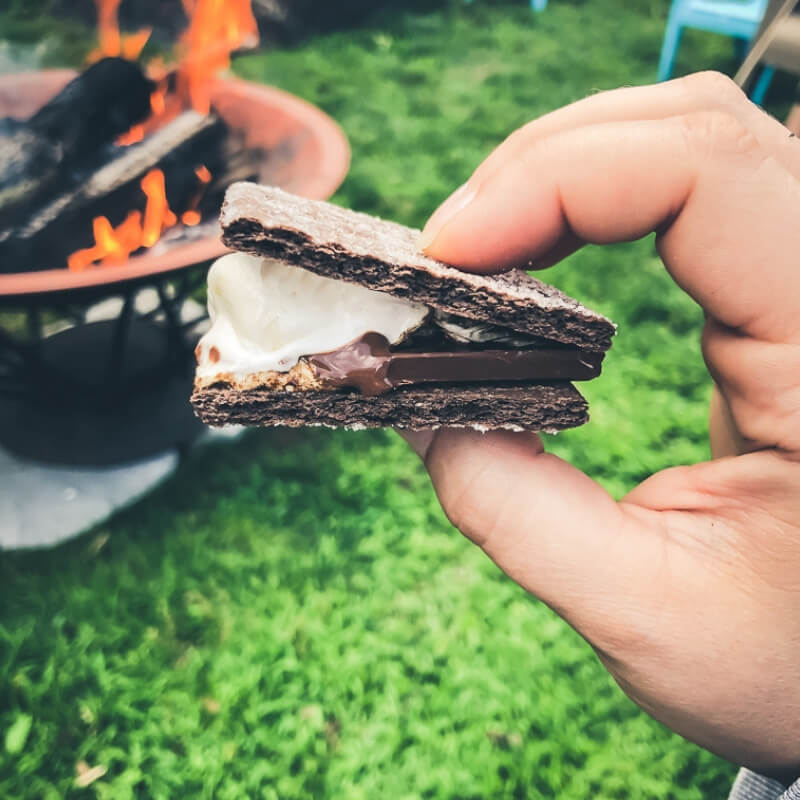 Here's a few super fun ways to up your S'mores game this Summer