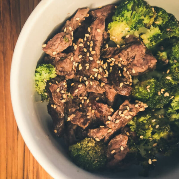 Sheet Pan Sweet Beef and Broccoli