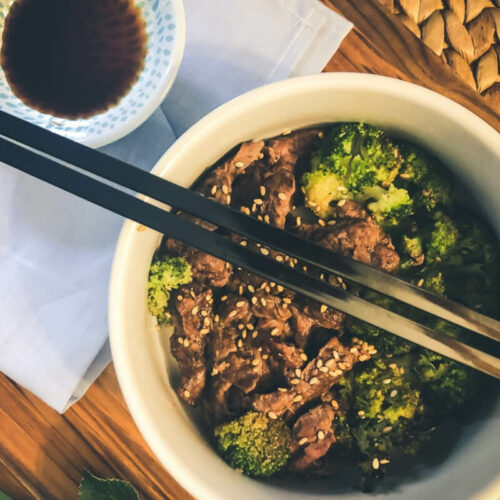 Sheet Pan Sweet Beef and Broccoli
