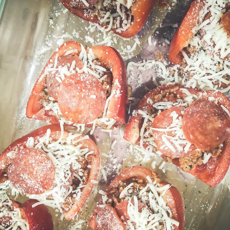 Slow Roasted Red Bell Pepper Pizza