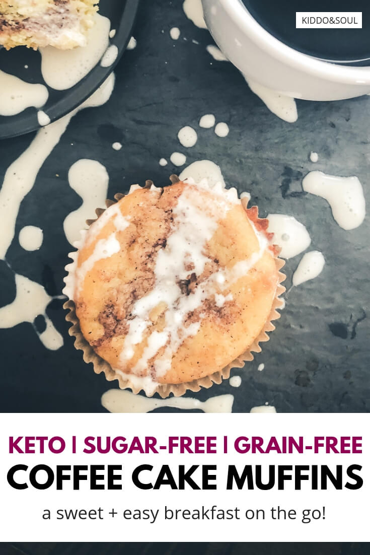 weet + easy low carb coffee cake muffins