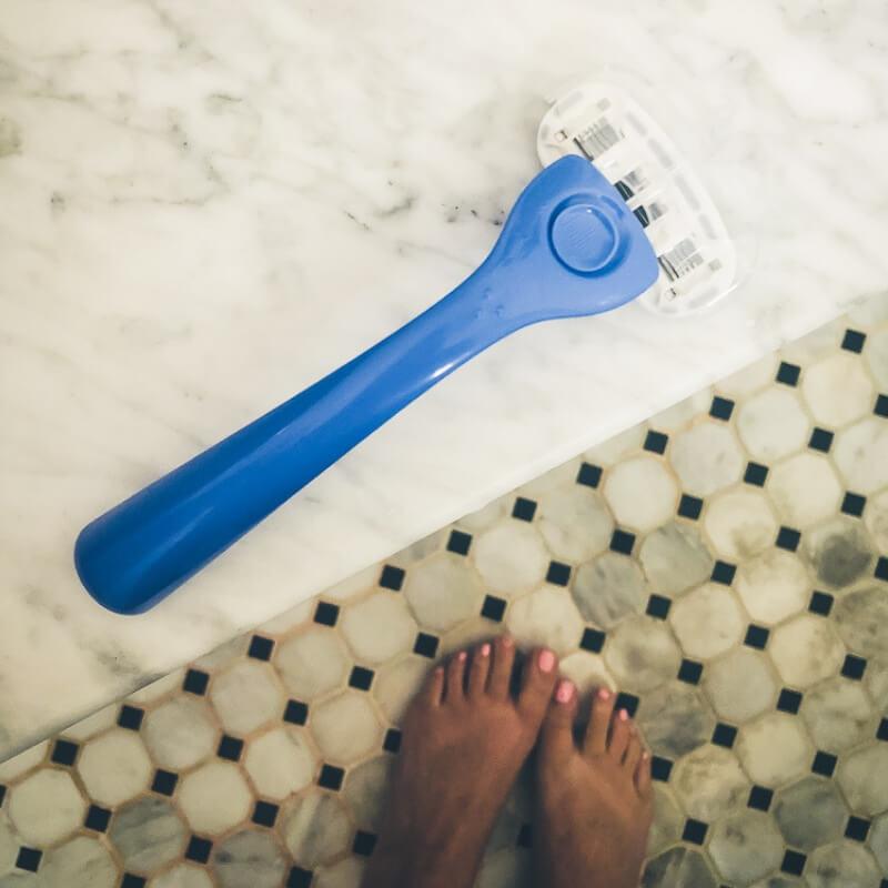 3 popular women's razor brands