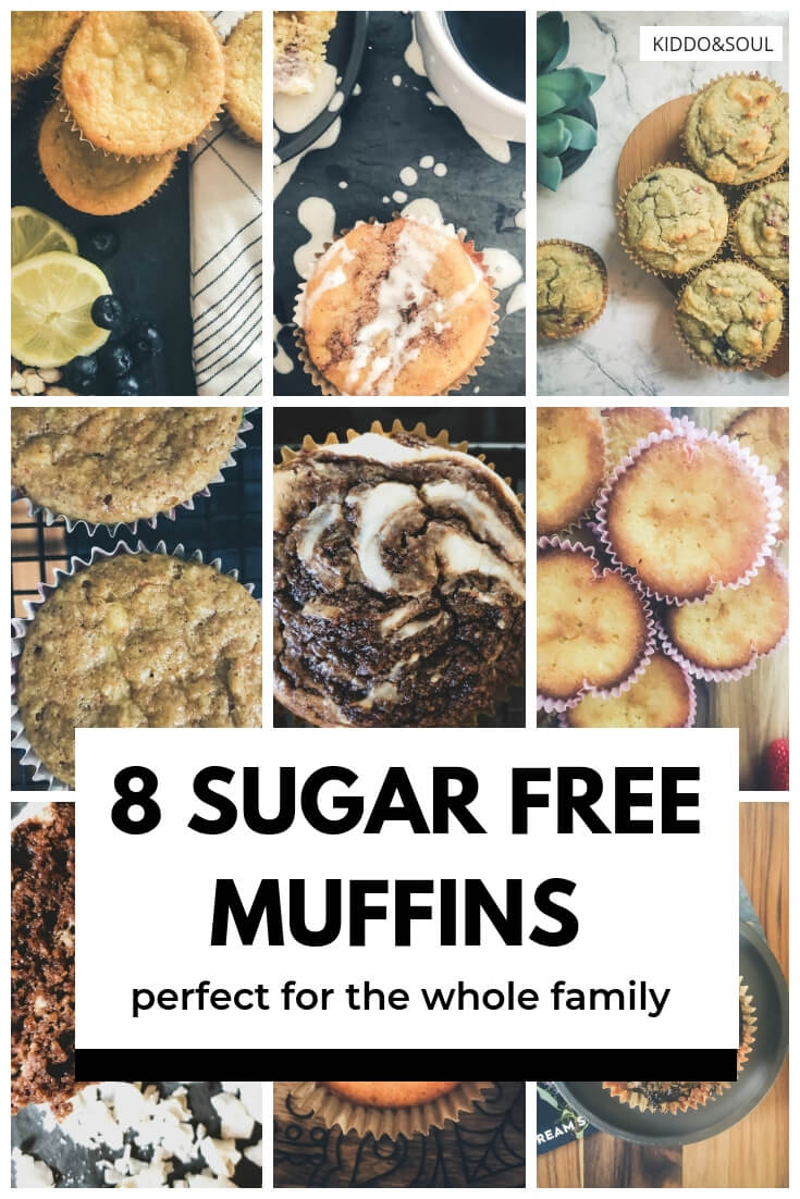 8 Delicious Sugar Free Muffins Perfect for the Whole Fam