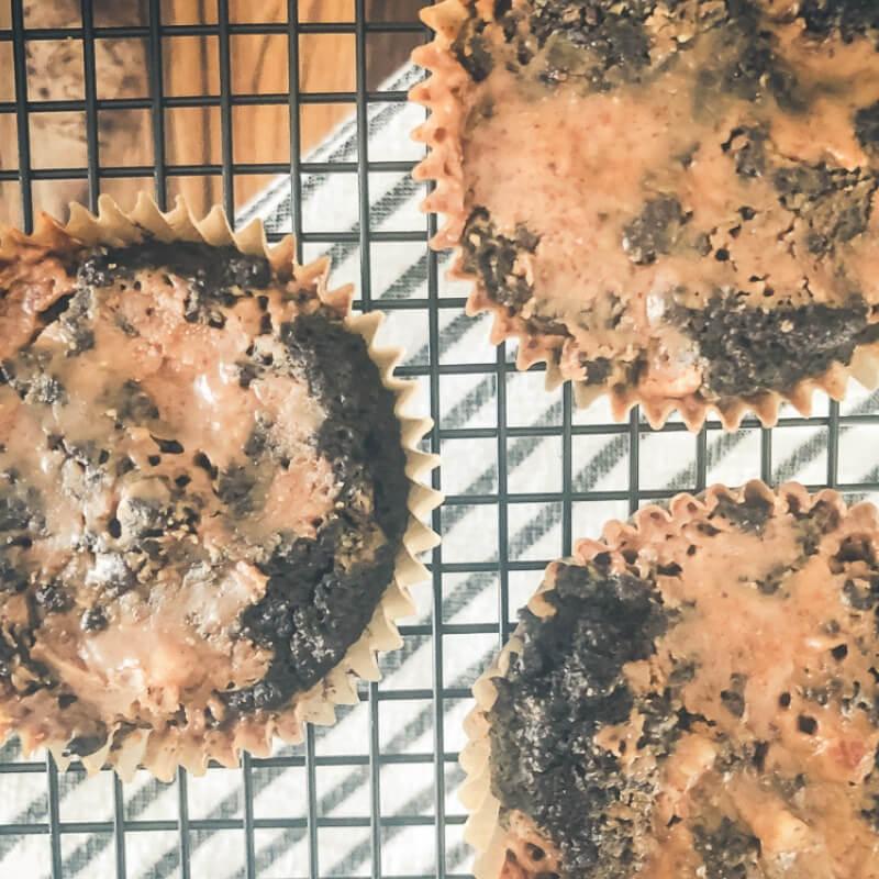 Grain-Free Dark Chocolate Almond Butter Muffins