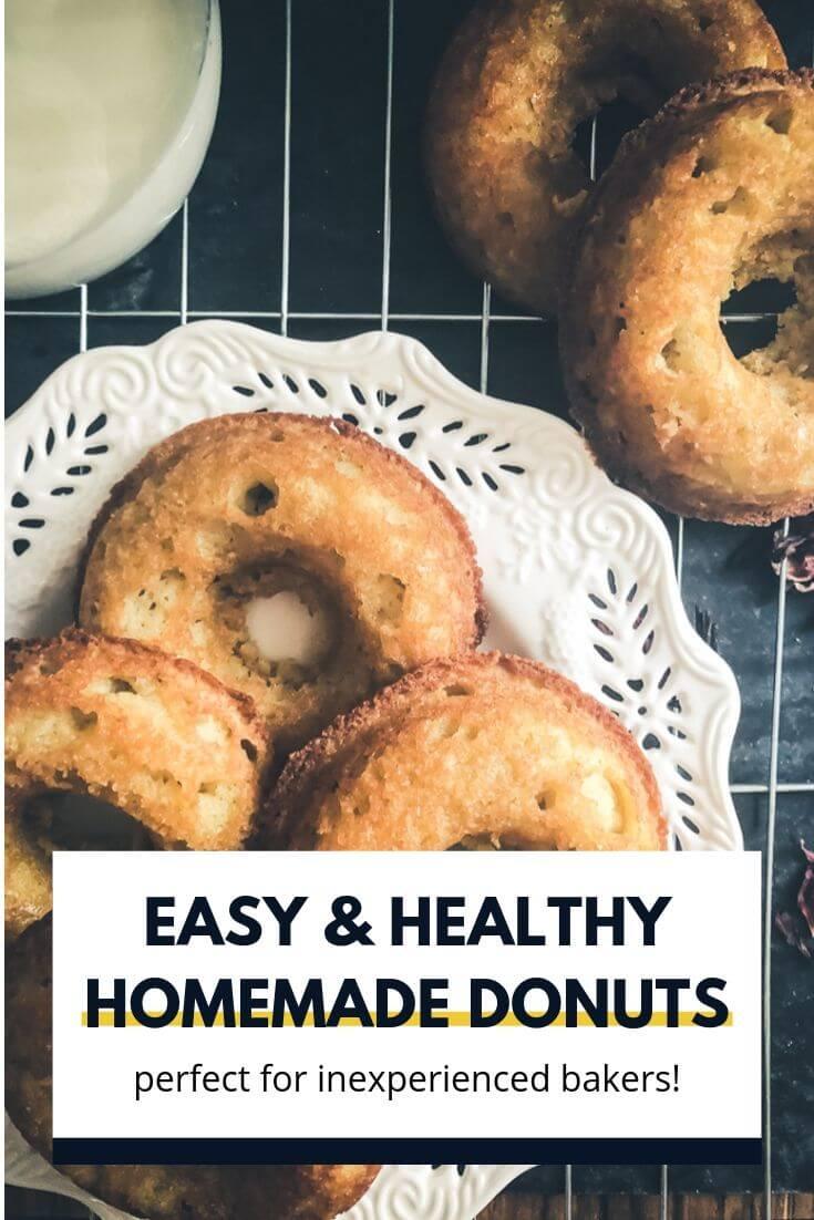 healthy homemade donuts