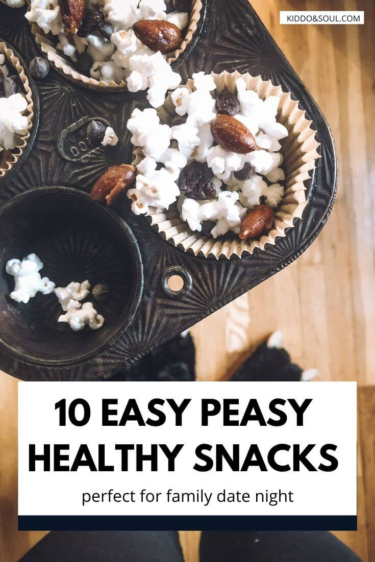 Quick and easy healthy snacks