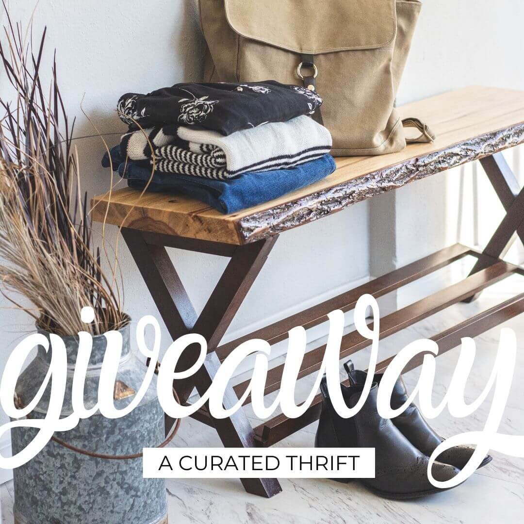 A Curated Thrift Giveaway on kiddoandsoul