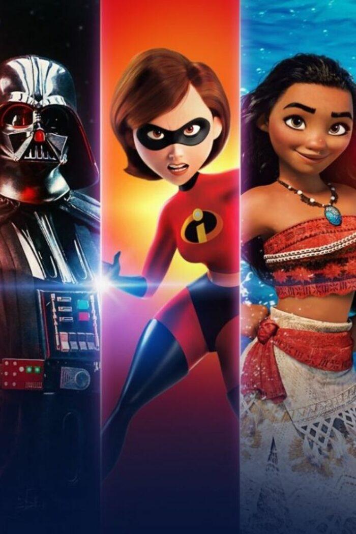 Disney, Star Wars, Marvel, Pixar + Nat Geo. Disney Plus is officially here.